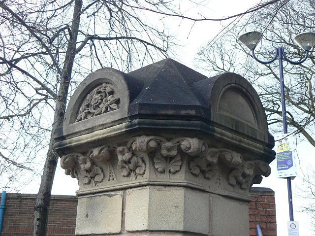Gatepost on Robin Hood Chase