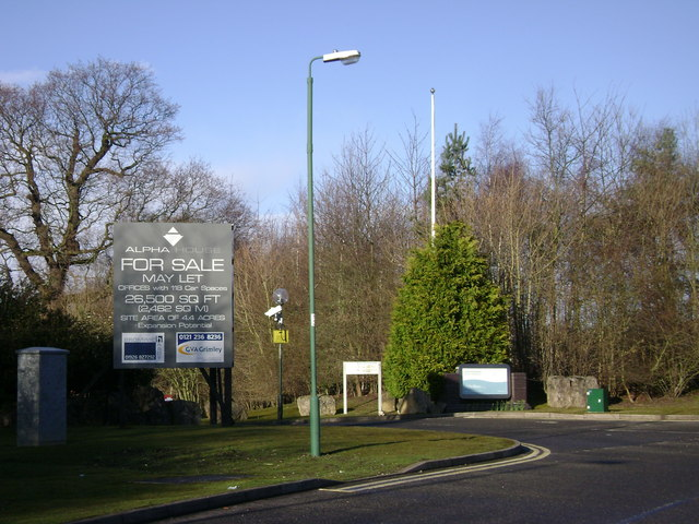 A bad sign, Warwick Technology Park
