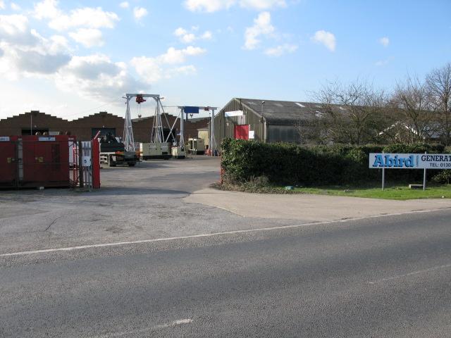 Abird generator factory, Ramsgate Road