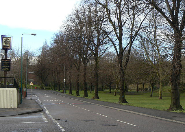 Hungerhill Road and recreation ground