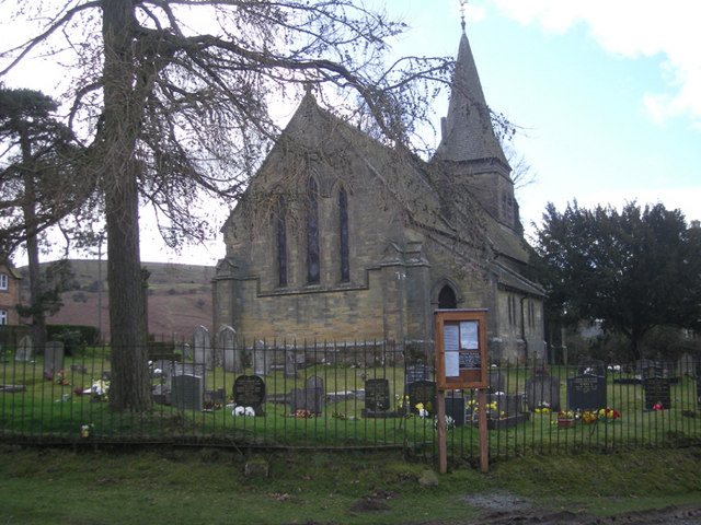 The church at Cleeton St. Mary