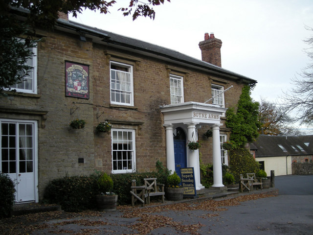 It's the only pub in the village
