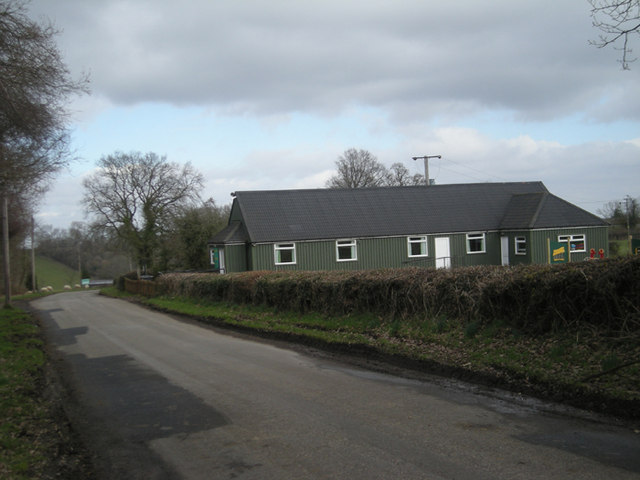 Oreton & Farlow village hall