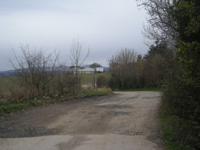 Driveway to Upper Bardley