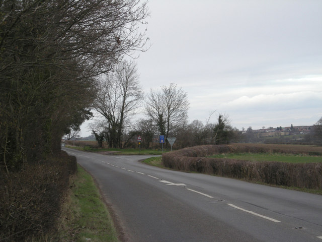 Junction of B4363 & B4555