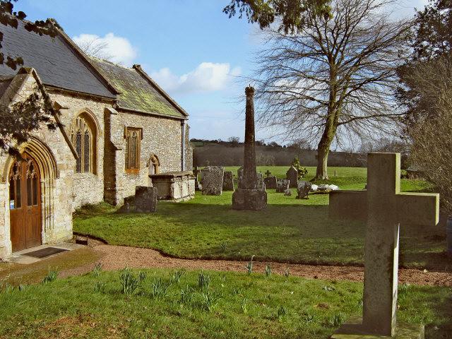 Broomfield churchyard