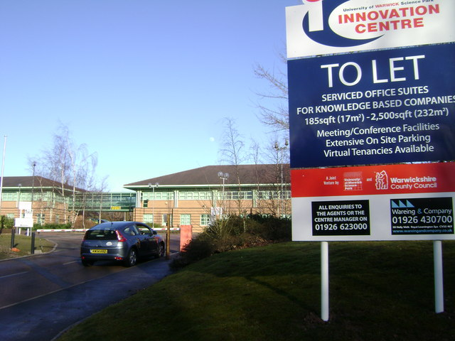 Another bad sign, Warwick Technology Park