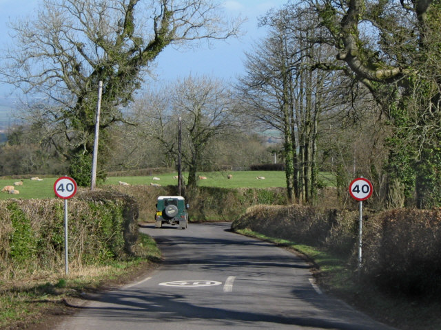 Rural speed limit