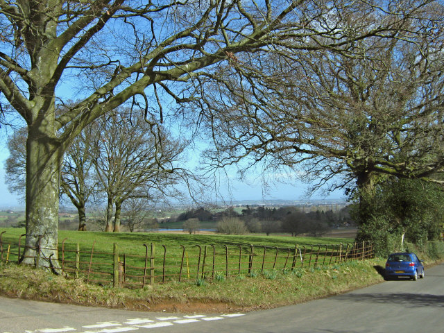 Junction near Smocombe House