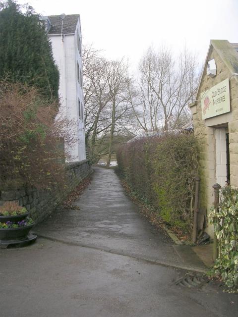 Footpath - The Dales Way - Stockeld Road