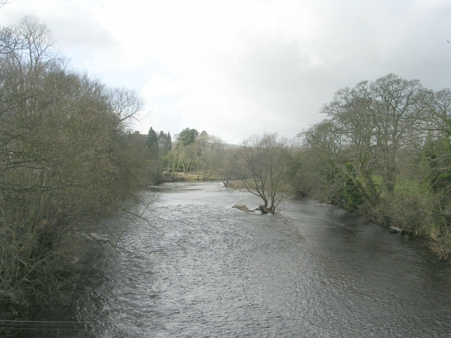 River Wharfe - from Ilkley Old Bridge