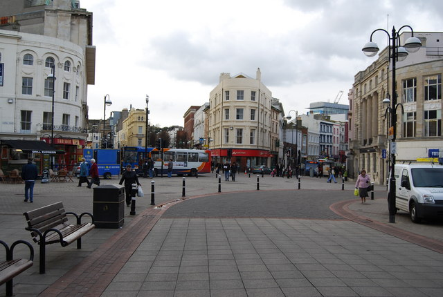 Fiveways, Hastings from Wellington St