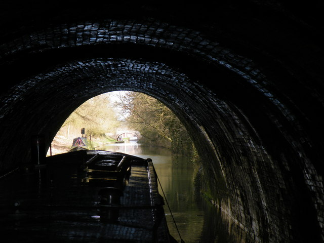 Emerging from Crick tunnel north portal