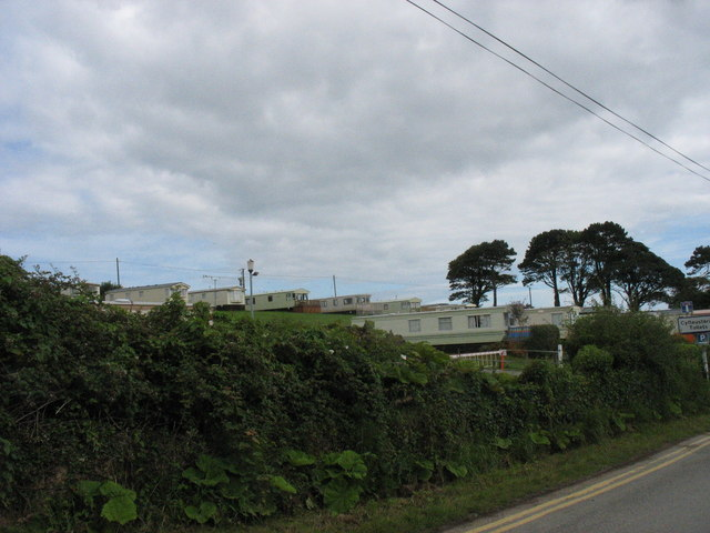 Caravan park at Gell-bach Farm