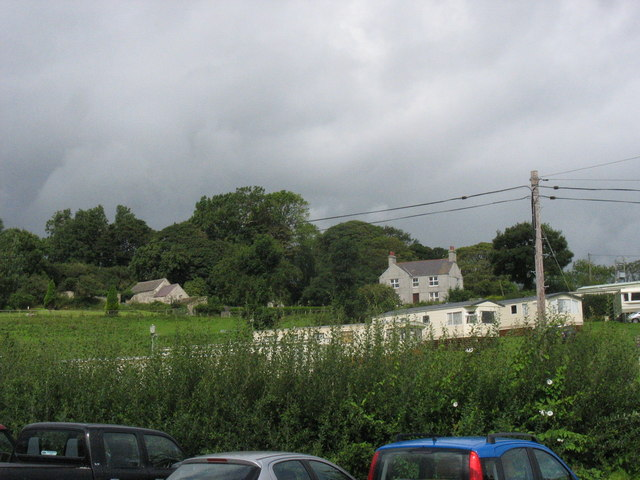 Gell-bach Caravan Park, Traeth Bychan, Marian-Glas