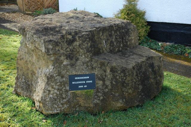 Sedgeberrow Millennium Stone