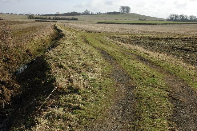Farmland to the north of Sedgeberrow