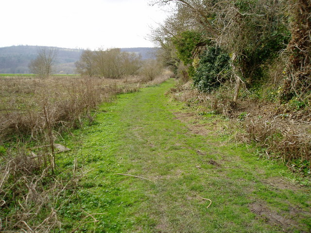 Monarch's Way leaves Houghton
