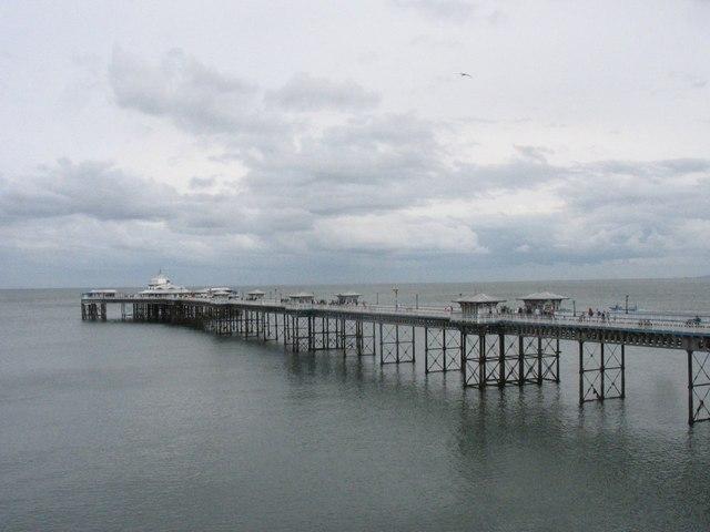 The Pier at Llandudno