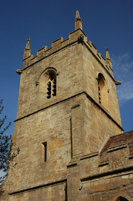 Tower of Hinton on the Green Church