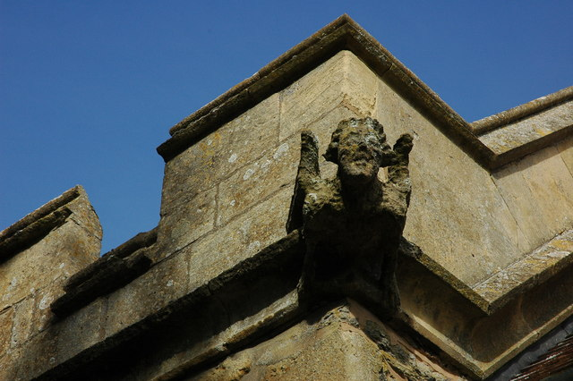 Gargoyle, Hinton on the Green Church