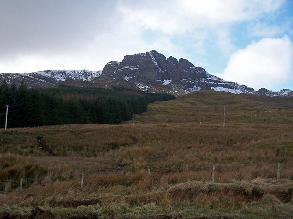 Grazing land below The Storr