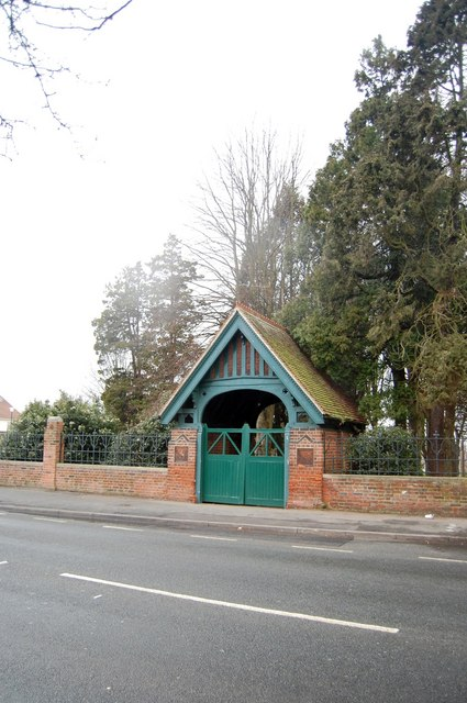 Lych Gate Entrance to Rayleigh Cemetery