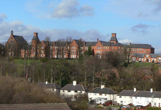 Mapperley Hospital, Male Wing