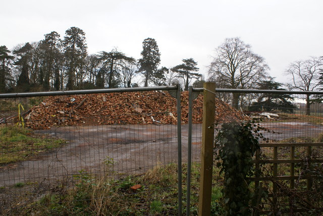 Reduced to rubble