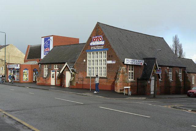 Former mission hall