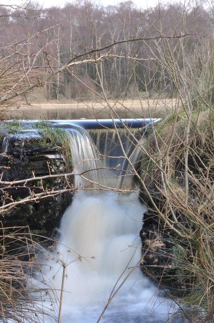 Muir Dam overflow