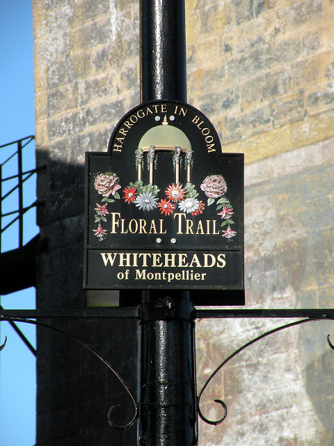 Floral Trail sign
