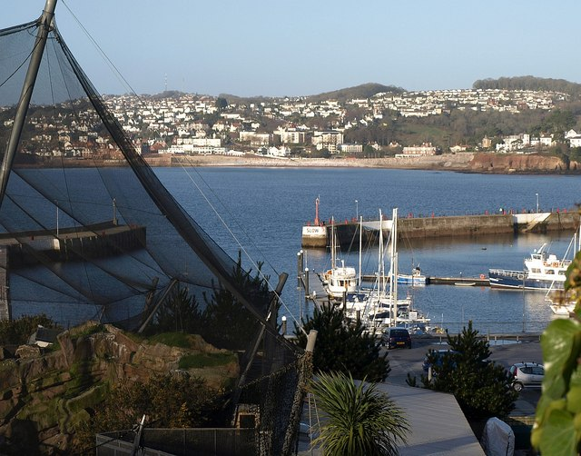 Corner of Living Coasts & Outer Harbour, Torquay