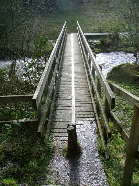 Footbridge over Old Patrick Water