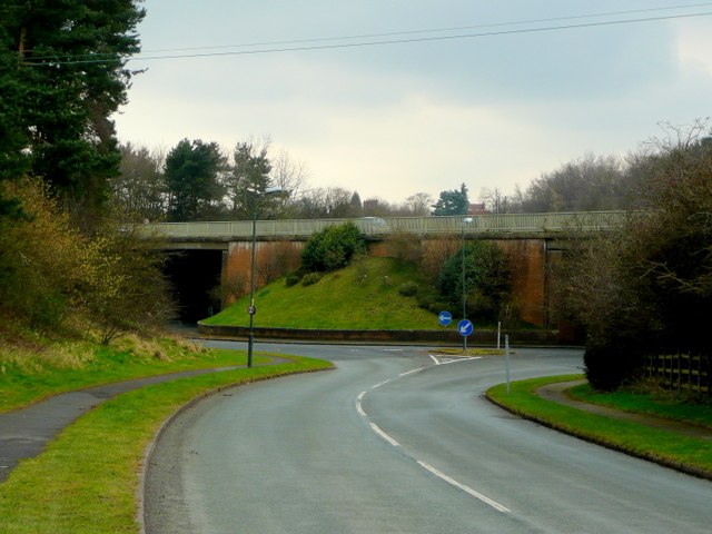 Clent Roundabout and the A491
