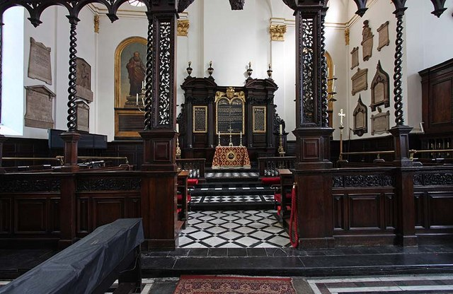 St Margaret, Lothbury, London EC2 - Chancel