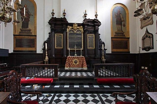 St Margaret, Lothbury, London EC2 - Sanctuary