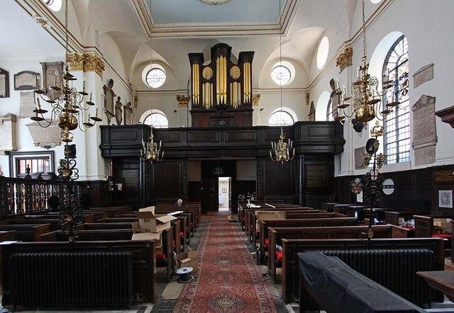 St Margaret, Lothbury, London EC2 - West end