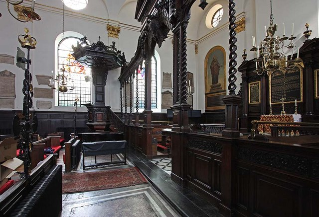 St Margaret, Lothbury, London EC2 - Interior