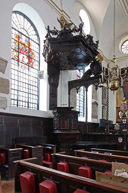 St Margaret, Lothbury, London EC2 - Pulpit