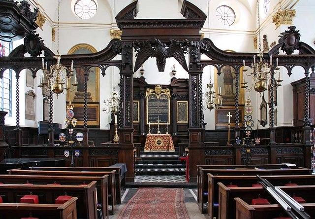 St Margaret, Lothbury, London EC2 - East end