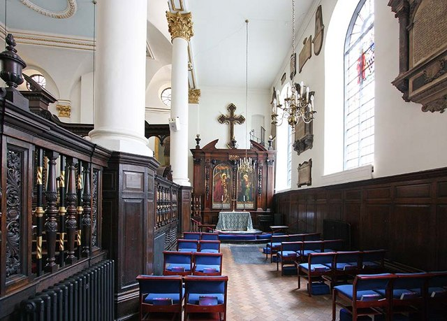St Margaret, Lothbury, London EC2 - South chapel