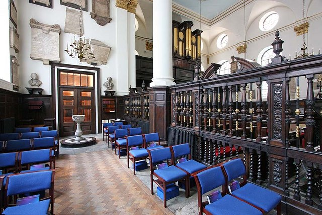 St Margaret, Lothbury, London EC2 - South chapel