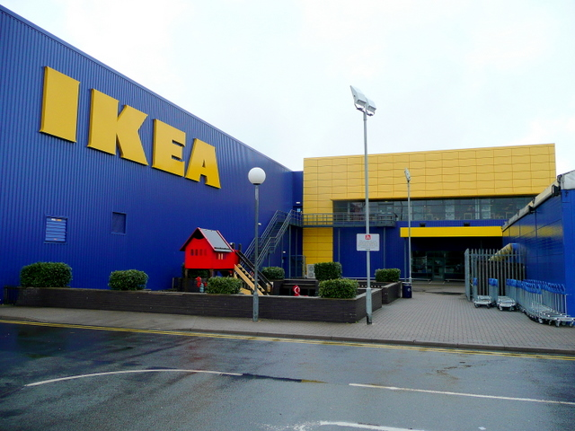 Swedish furniture superstore, Wednesbury 2