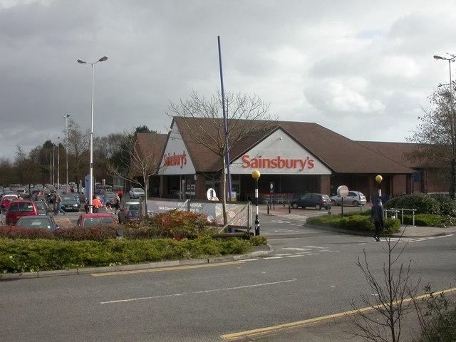Alder Hills, Sainsburys
