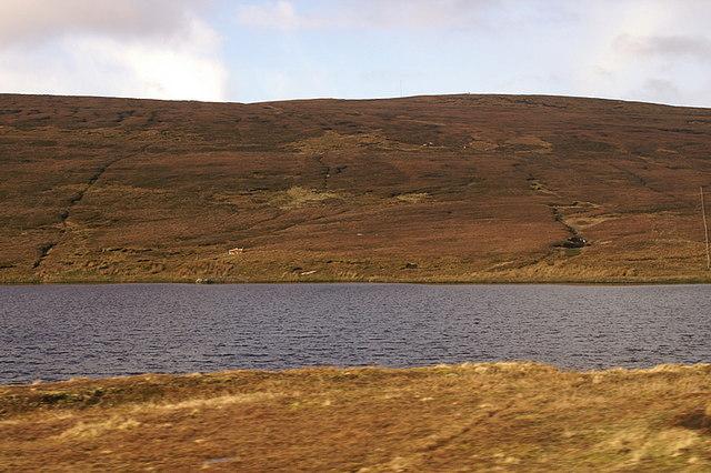 Loch of Garth, north of Gutcher