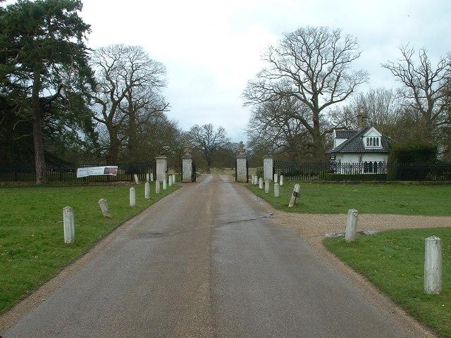 Entrance To Ickworth