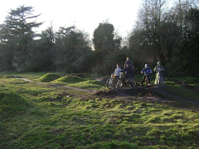 BMX track, St Nicholas Park, Warwick