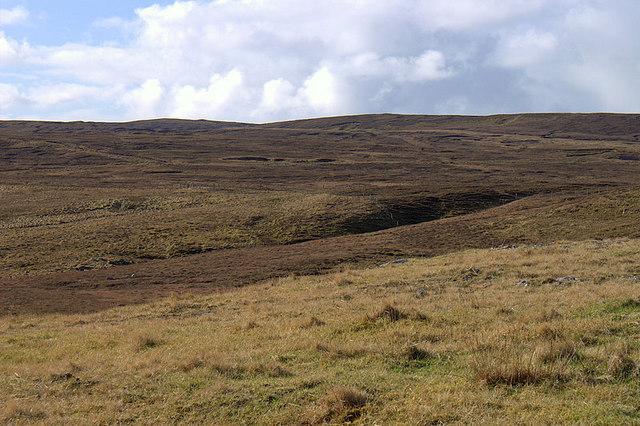 Moorland west of Cullivoe