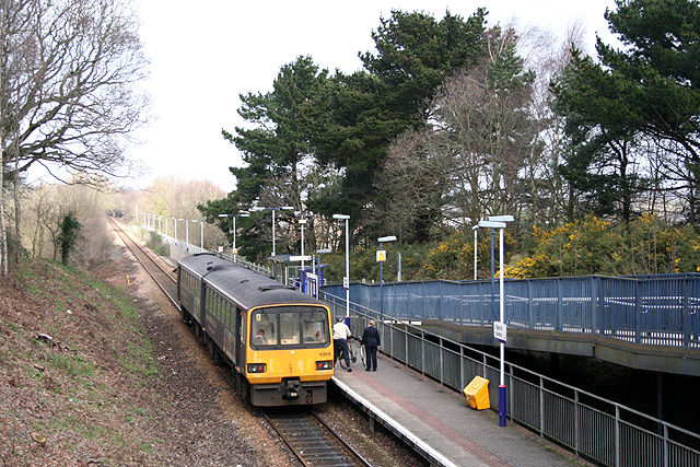 Exeter: Digby and Sowton Station 2